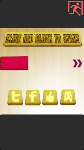 Slide To Unblock Red