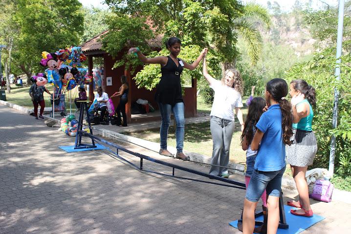 Fundo Social recebe crianças no Parque Francisco Rizzo