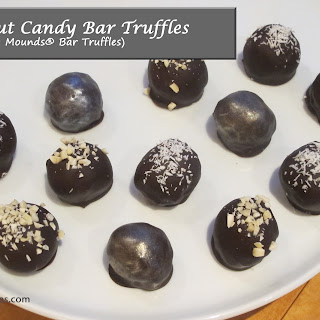 Coconut Candy Bar Truffles