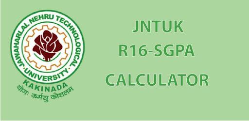 JNTUK GPA CALCULATOR R16 - by KANCHARLA RAJU - Education Category
