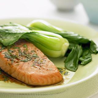 Roasted Cilantro Lime Salmon.