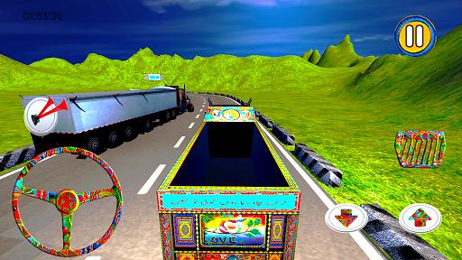 PK Cargo Truck Driving screenshots 3