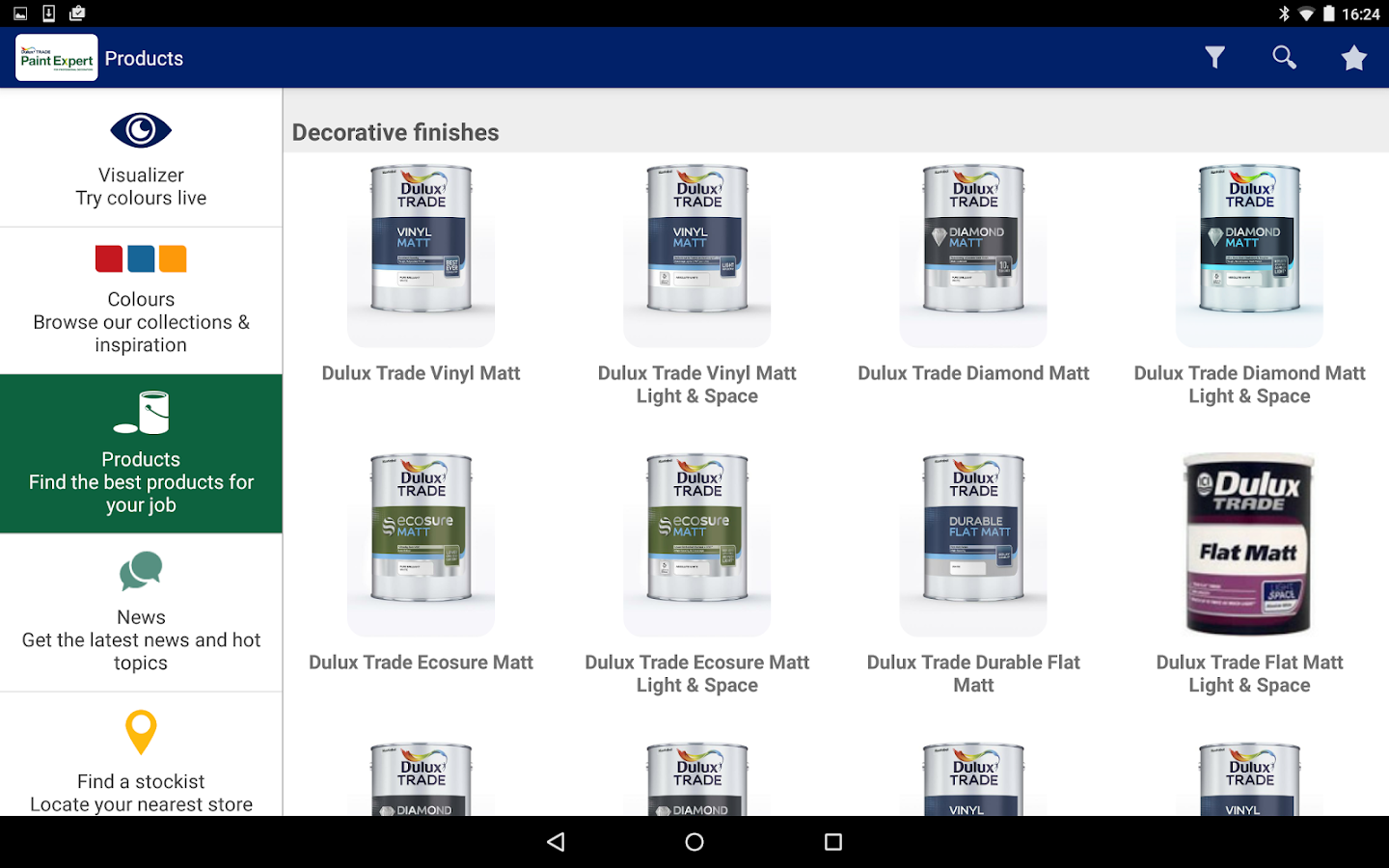 Dulux Paint Expert Decorators Screenshot