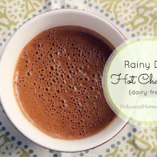 Rainy Day Paleo Hot Chocolate (Dairy Free).