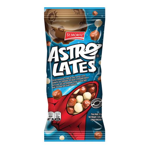 Chocolate St Moritz Astrolates 30Gr