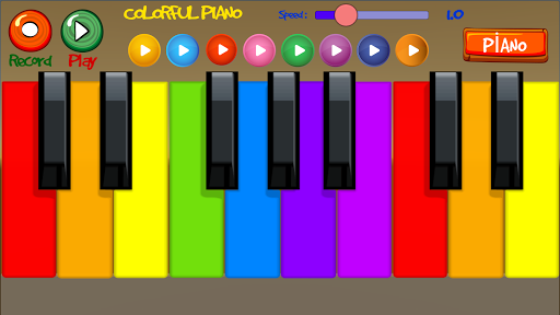 Colorful Piano Screenshot
