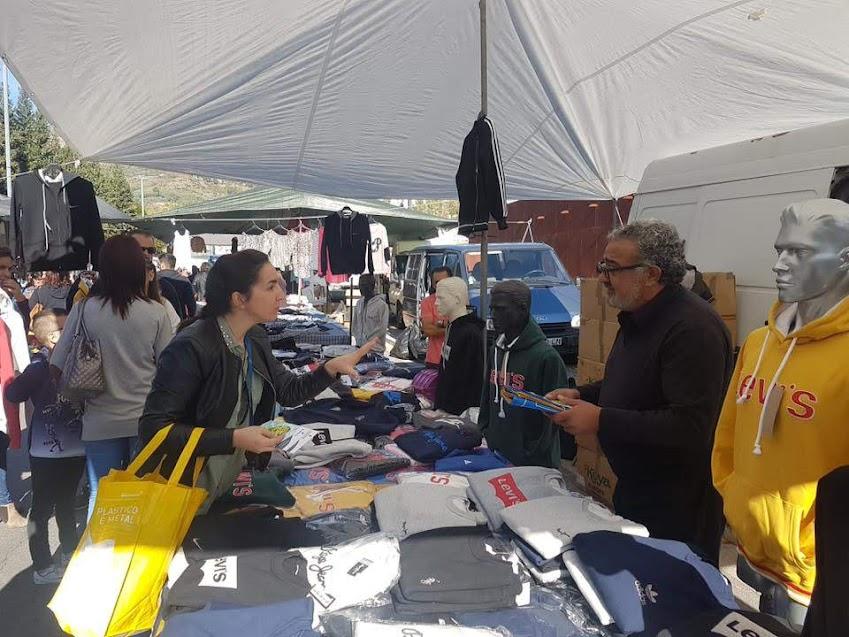 RESINORTE e Câmara Municipal de Lamego sensibilizam os Comerciantes da Feira Semanal e restante Comércio do Município para a correta separação dos resíduos