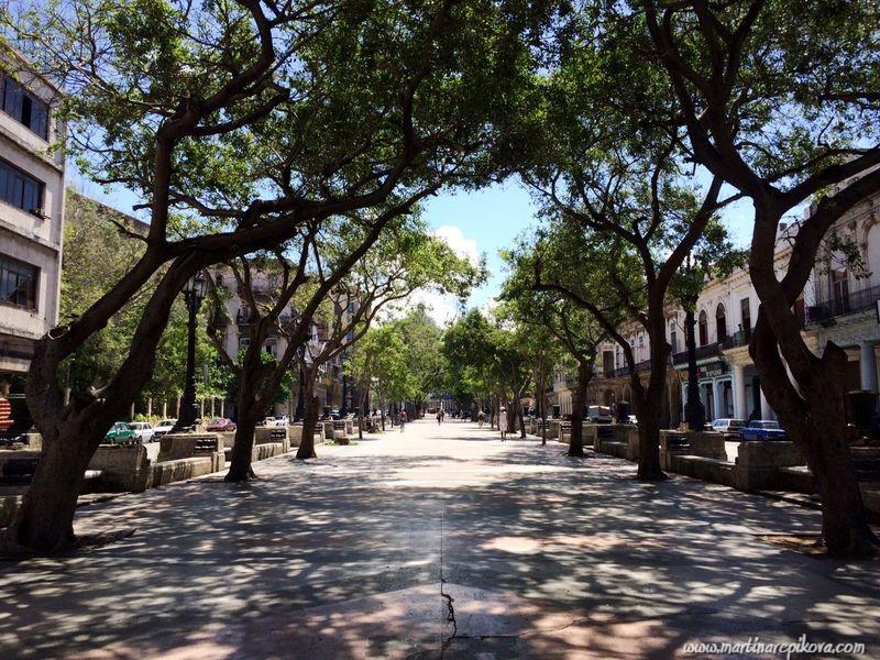Prado promenade in Havana, Cuba