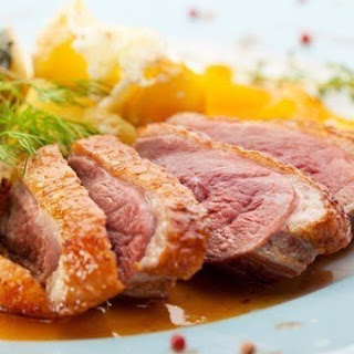 Duck Breast With Mandarin Oranges