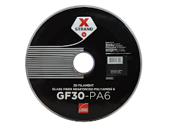 Owens Corning XSTRAND 3D Printing Filament - GF30-PA6 Glass-Filled Nylon - 2.2 kg - 2.85mm