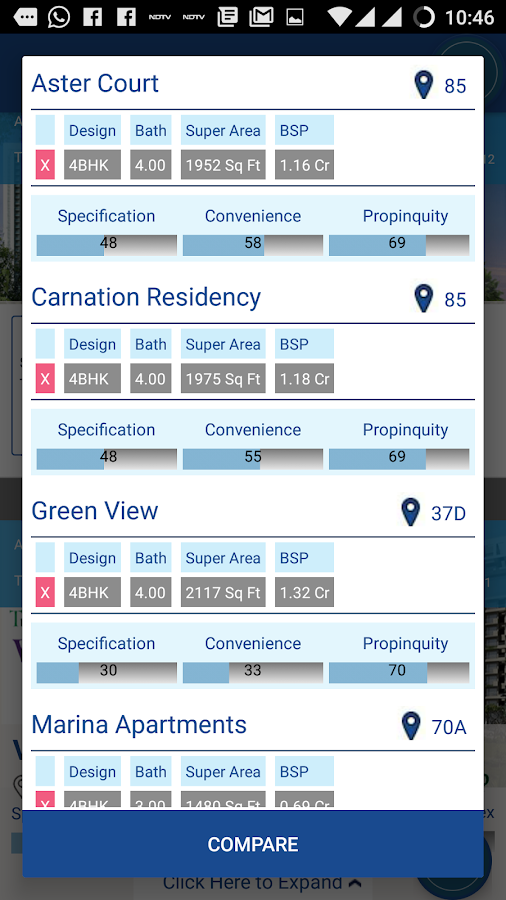 PropChill Property App- screenshot