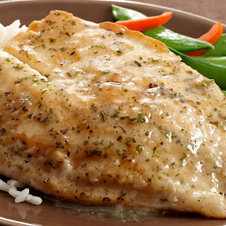 Saucy Lemon Fish Fillets.