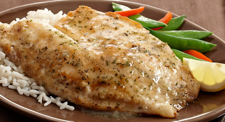 Saucy Lemon Fish Fillets Recipe