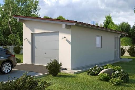 Projekty Garaży Z Dachem Jednospadowym Toobapl