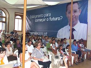 Photo: Nesta sessão, inaugurada a sede de campanha do PS na Rua Miguel Bombarda, n.º 37 (antigos móveis Pardal)