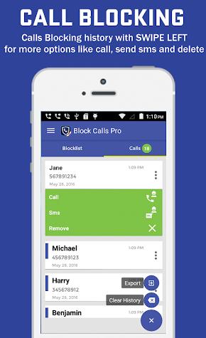 Call Blocker Pro Screenshot