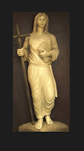 Photo: 'YOUNG JESUS'  Freestanding Life-sized Sculpture in cast architectural stone; Sanctuary of St. Isidore the Farmer, Yuma, Arizona