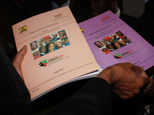 The 2009 census report that was launched at the KICC in Nairobi