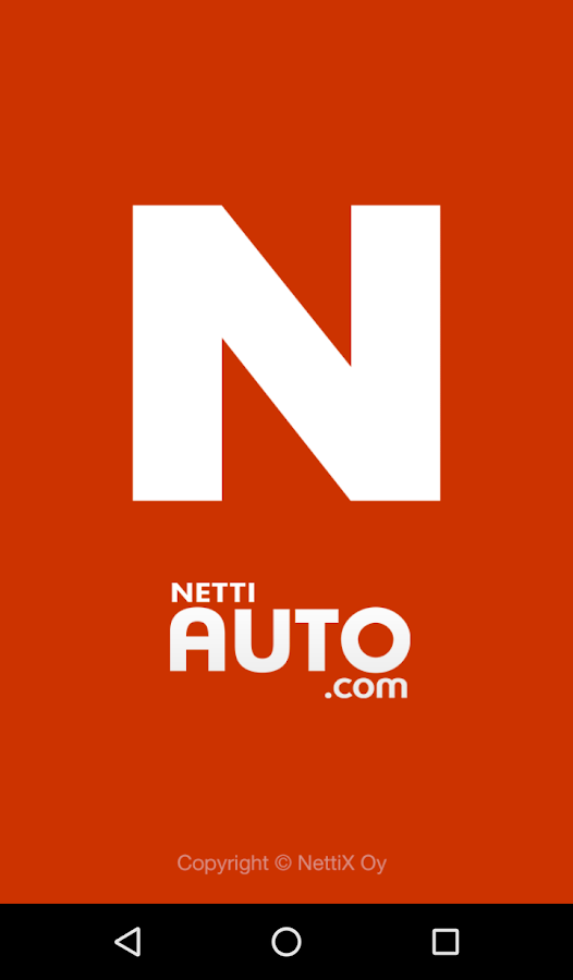 Nettiauto- screenshot