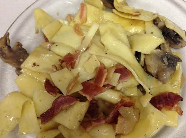 Egg Noodle Side Dish Or Great Leftover Meal Recipe