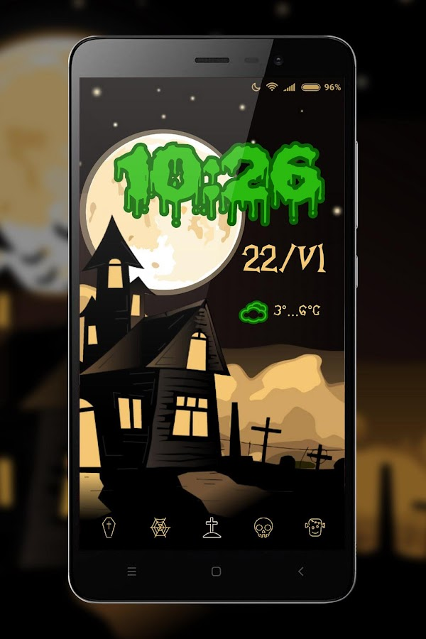 Happy Halloween for KLWP- screenshot