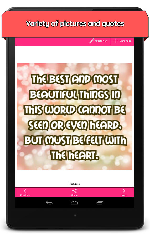 Love Messages in Pictures - screenshot