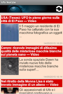 Ufo Notizie- screenshot thumbnail