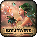 Hidden Solitaire Elven Woods - Free Card Game icon