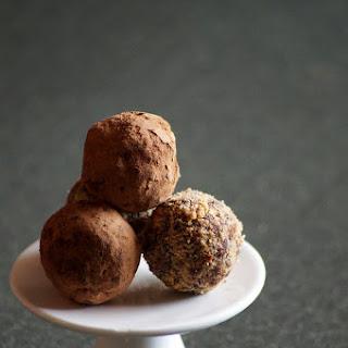 Dates Peanut Chocolate Truffles Recipe - Valentine's Day Special Recipes