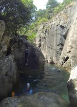 Photo: skákanie v kaskádach Polischellu