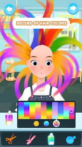Hair salon games screenshot 1