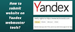 Submit Website to Yandex