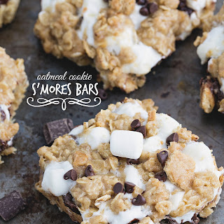 Oatmeal Cookie S'mores Bars