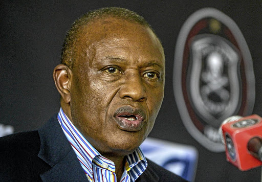 Orlando Pirates chairman Irvin Khoza. Picture: GALLO IMAGES