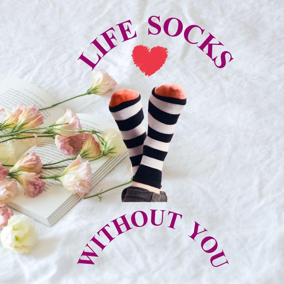Valentine sock pun