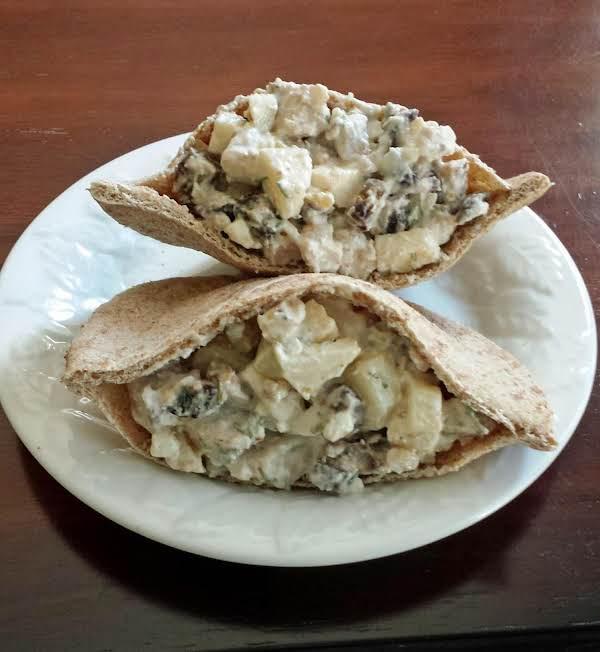 Greek Pita Chicken Salad