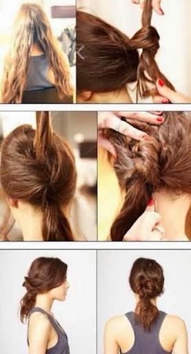 髪型簡単チュートリアル