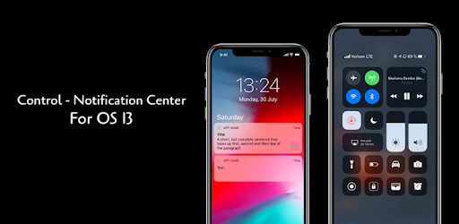 Notification & Control Center for i OS13 - Apps on Google Play
