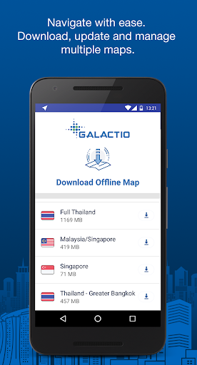 Galactio - Navigation & Maps for Urban Mobility Preview 0