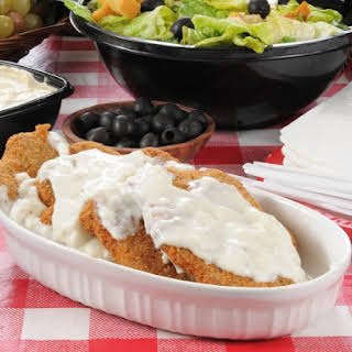Slow Cooker Country Fried Steak.