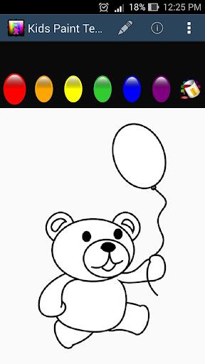 Kids Paint - Teddy