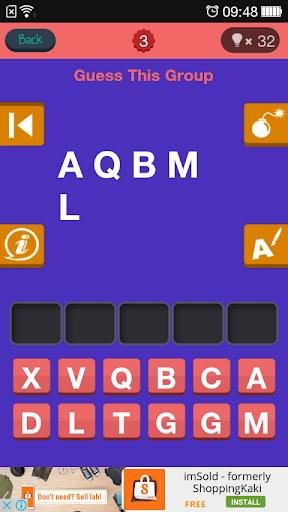 玩免費益智APP|下載Kpop Quiz Guess The Band Name app不用錢|硬是要APP