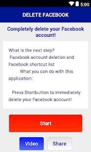 Account Deleting Guide for Facebook - náhled