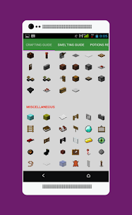 Crafting Guide For Minecraft- screenshot thumbnail