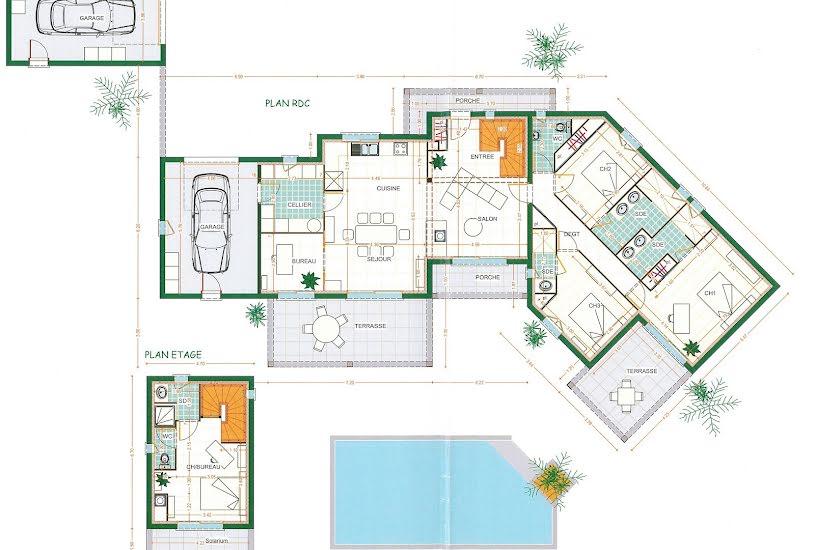 Vente Terrain + Maison - Terrain : 1490m² - Maison : 155m² à Isle (87170)