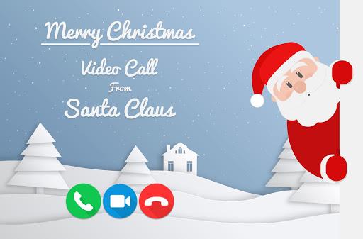 Fake Santa Claus Video Calling Simulator screenshot 1