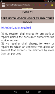 Kenya's The Consumer Protection Act, 2012 - náhled