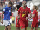 Julie Biesmans analyse la prestation des Red Flames contre l'Italie