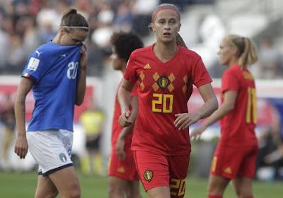 Julie Biesmans analyse la prestation des Red Flames contre l'Italie
