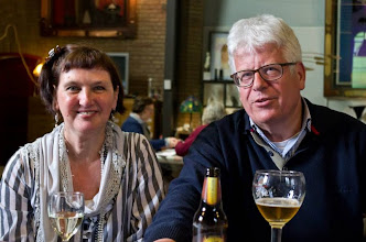 Photo: Burgemeester (Sittard/Geleen) Sjra Cox + Marieke Russel
